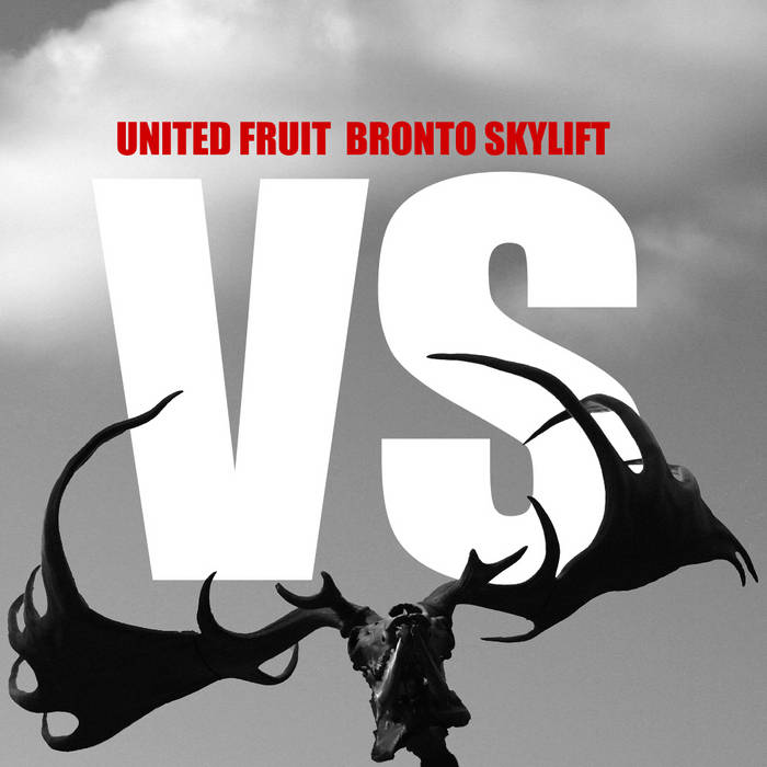 United Fruit VS Bronto Skylift (SPLIT) cover art