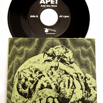 "APE! Tall Ships B/ And We Wait 7"" cover art"