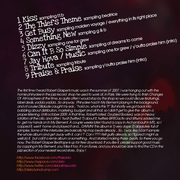 The Robert Glasper Beat Tape cover art