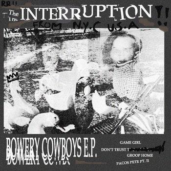 Bowery Cowboys E.P. cover art