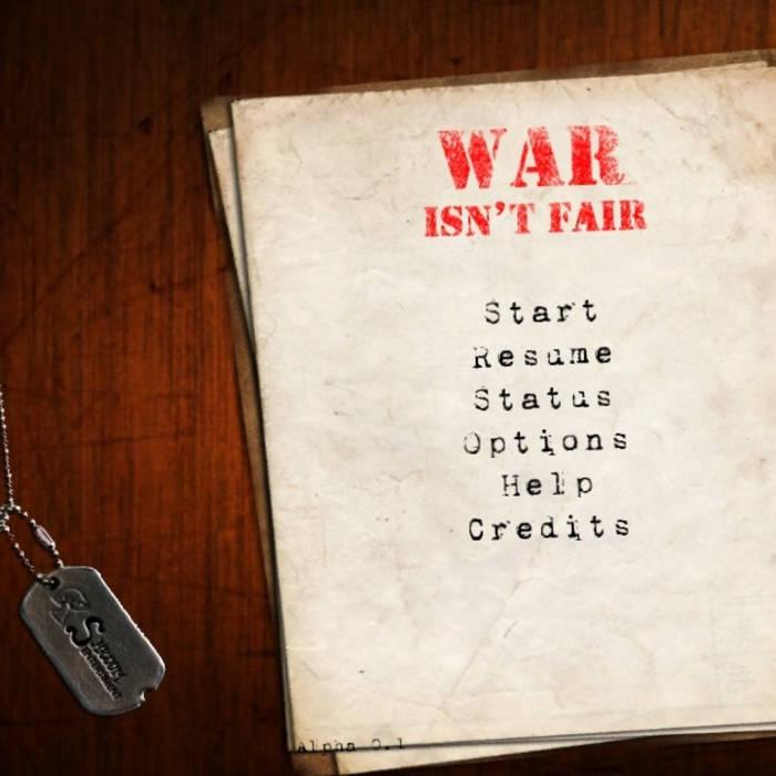 War Isn't Fair cover art