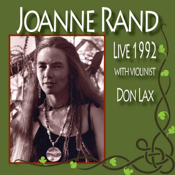 Live 1992 with Violinist Don Lax cover art