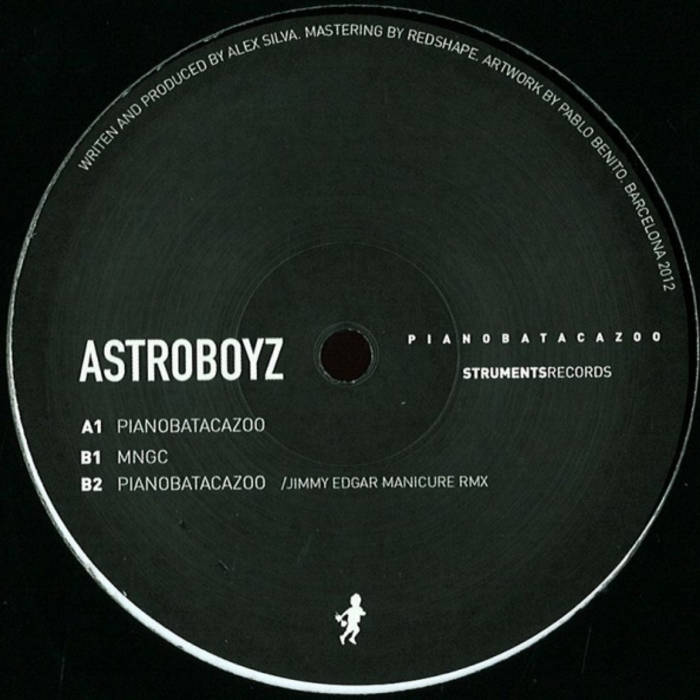 Astroboyz_Pianobatacazoo EP_STR001 cover art