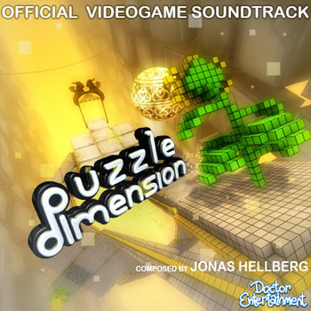Puzzle Dimension - Official Videogame Soundtrack cover art