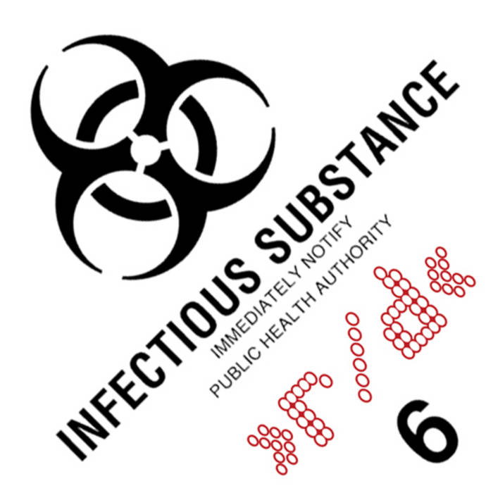Infectious Substance (EP) cover art
