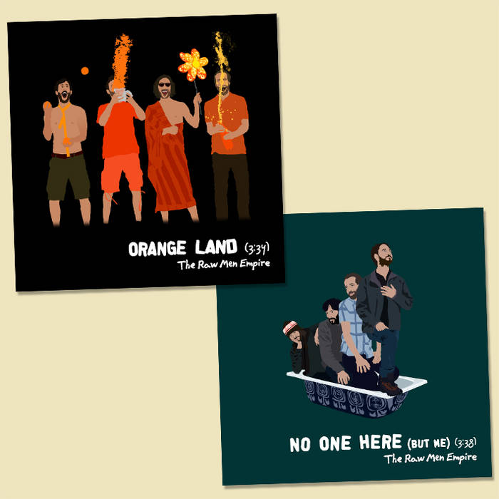 Orange Land / No One Here (But Me) cover art