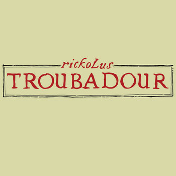 Troubadour cover art