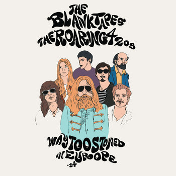 Way Too Stoned In Europe '14 EP cover art