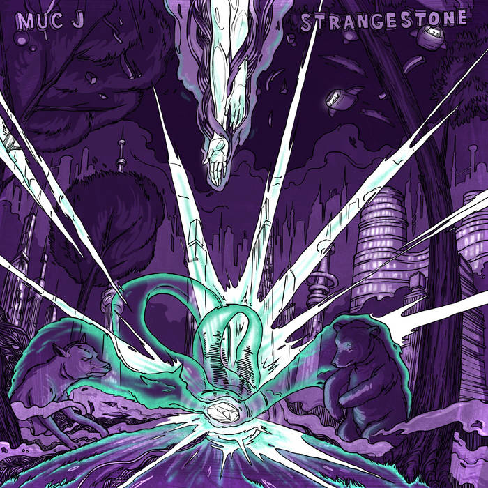 Strangestone (LP) cover art