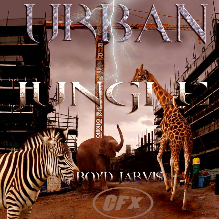 """BOYD JARVIS URBAN VOCAL EXPERIMENTAL """"EP"""" cover art"""