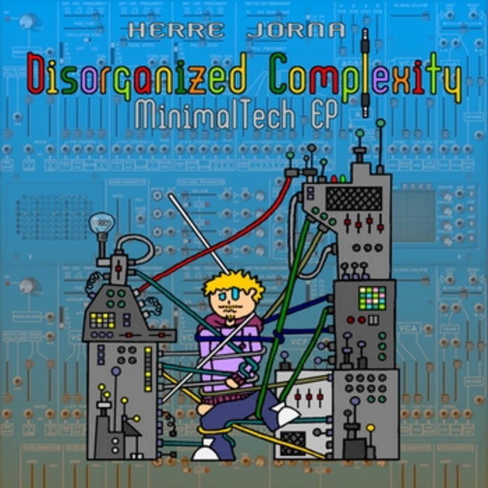 """Disorganized Complexity"" cover art"
