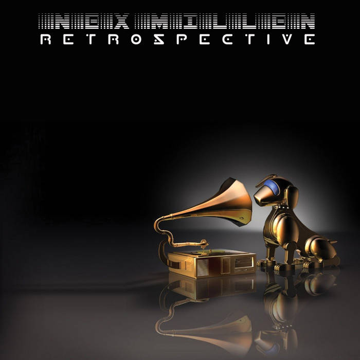 Nex Millen/Retrospective:: The Black Album cover art