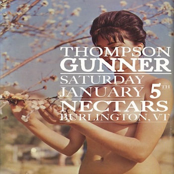 thompson gunner-live@nectars cover art