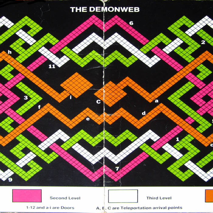 THE DEMONWEB EP cover art