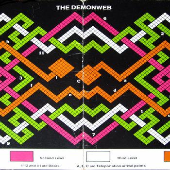 THE DEMONWEB EP cover art