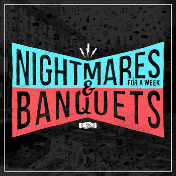 Buy Nightmares for a Week/Banquets:  Split 12 inch vinyl New from NoSleep/Black Numbers Records
