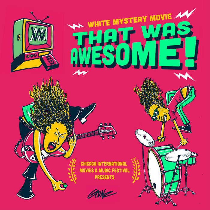 White Mystery THAT WAS AWESOME cover art