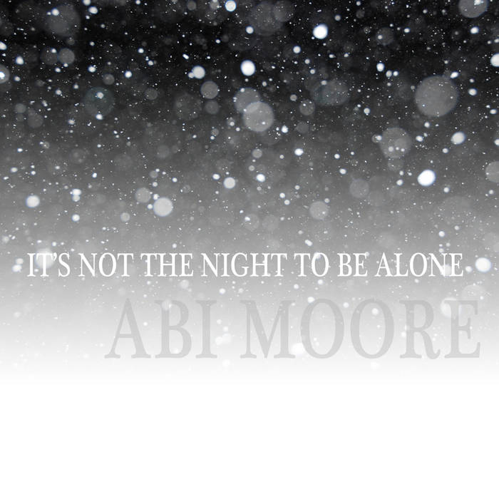 It's Not The Night To Be Alone cover art