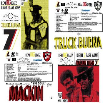 MACKIN TOSH/TRUCK BURNA cover art