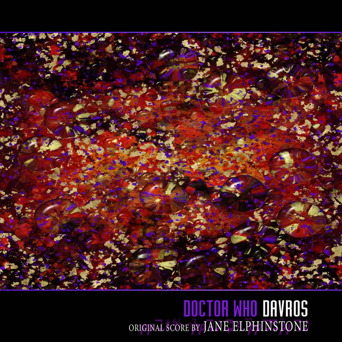 Doctor Who - Davros - remastered OST cover art