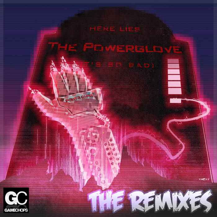 Powerglove: THE REMIXES cover art