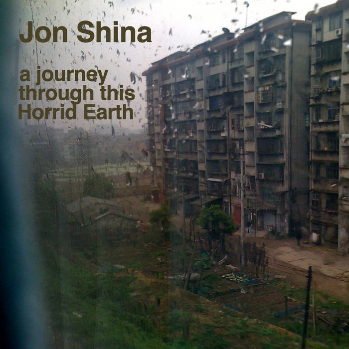a journey through this Horrid Earth cover art