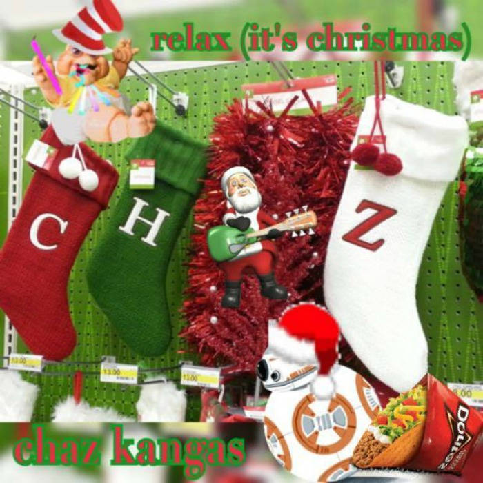 Relax (It's Christmas) featuring Corina Corina (Produced by Steel Tipped Dove) cover art