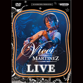 Vicci Martinez Live (DVD) cover art
