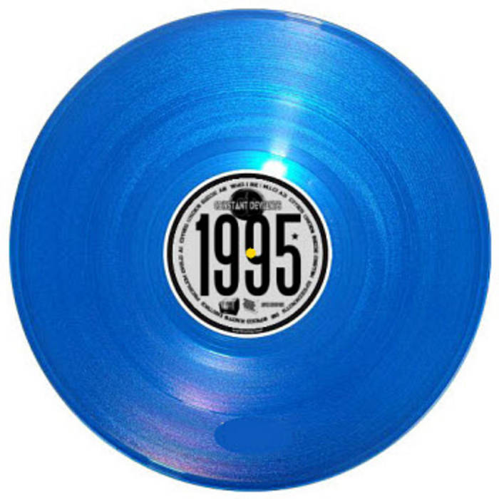 "CONSTANT DEVIANTS 1995 DEMO Ltd. Ed. 12"" EP cover art"