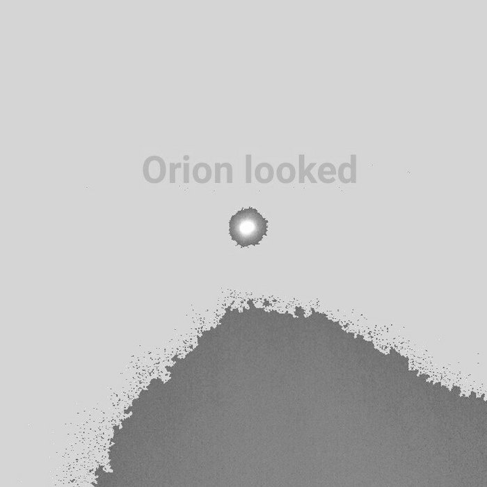 Orion looked.ep cover art