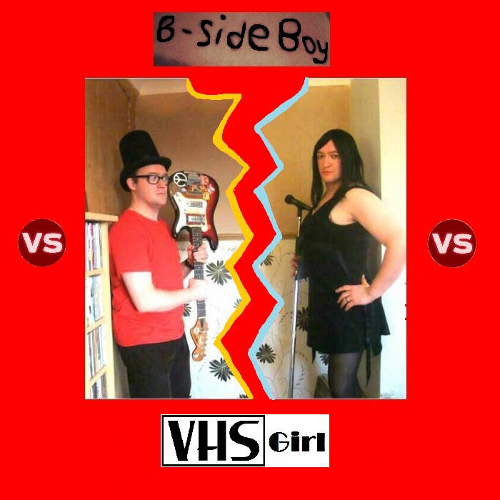 B-Side Boy vs VHS Girl cover art