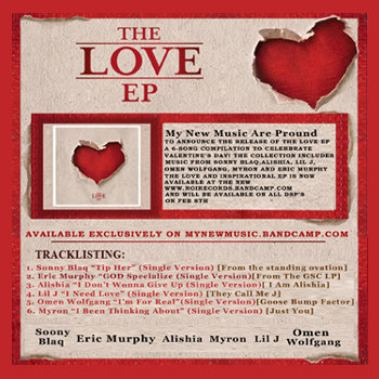 The Love EP cover art