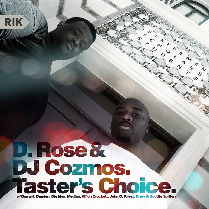 Taster's Choice cover art