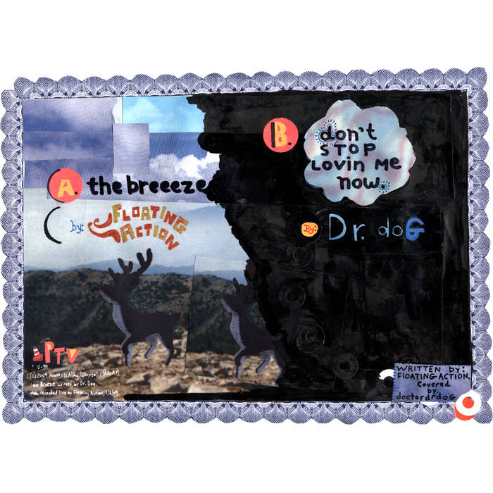 "Split 7"" w/Dr. Dog cover art"