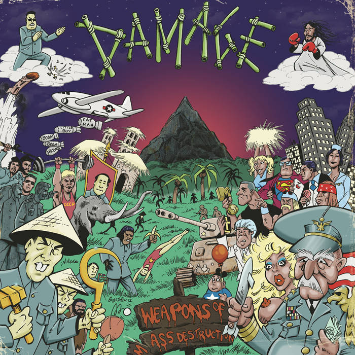 Damage - Weapons of Mass destruction cover art