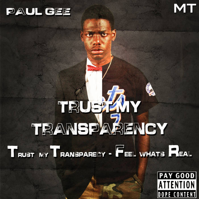 Trust My Transparency: TTFR cover art
