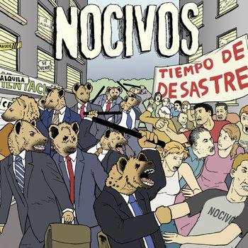 Tiempo de desastre (2013) cover art