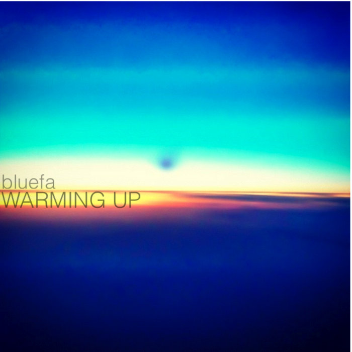 warming up EP cover art