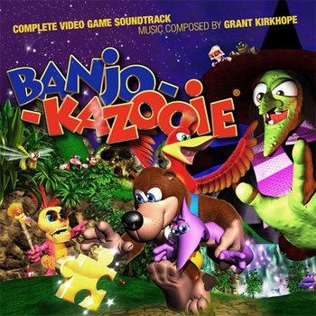 Banjo-Kazooie cover art