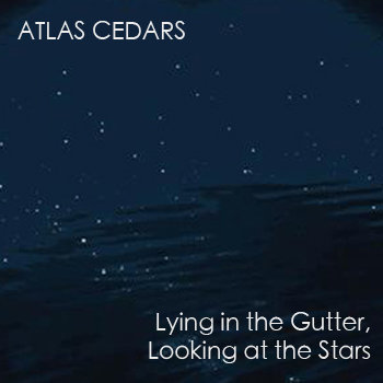 Lying in the Gutter, Looking at the Stars cover art