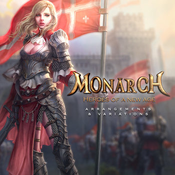 Monarch: Heroes of a New Age Arrangements & Variations cover art