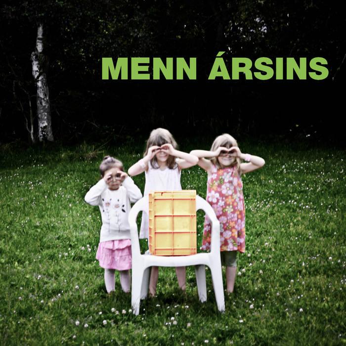 Menn Ársins cover art