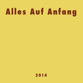 Alles Auf Anfang (2014-09) cover art