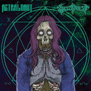 Astralnaut / Weed Priest - Split Single 2015 cover art