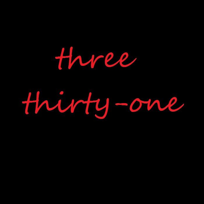 three thirty-one cover art