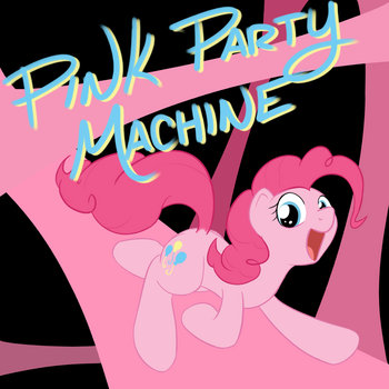 Pink Party Machine EP cover art