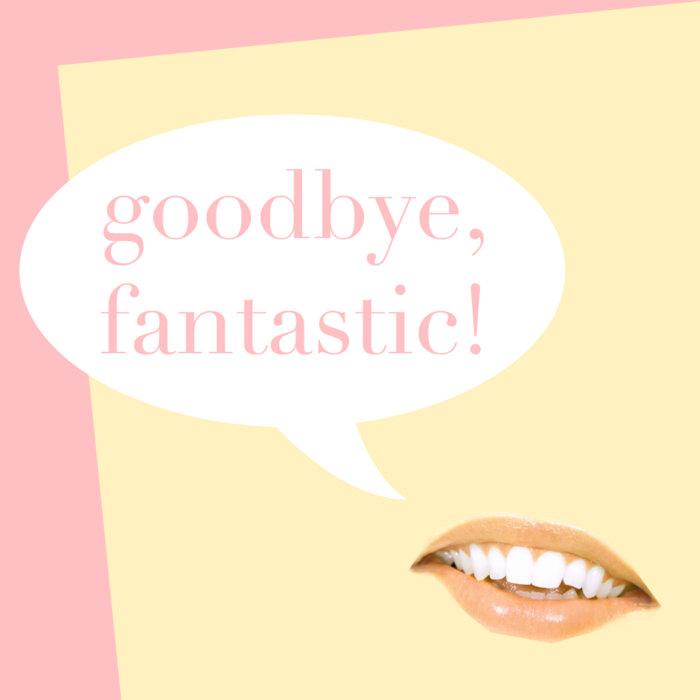 Goodbye, Fantastic cover art
