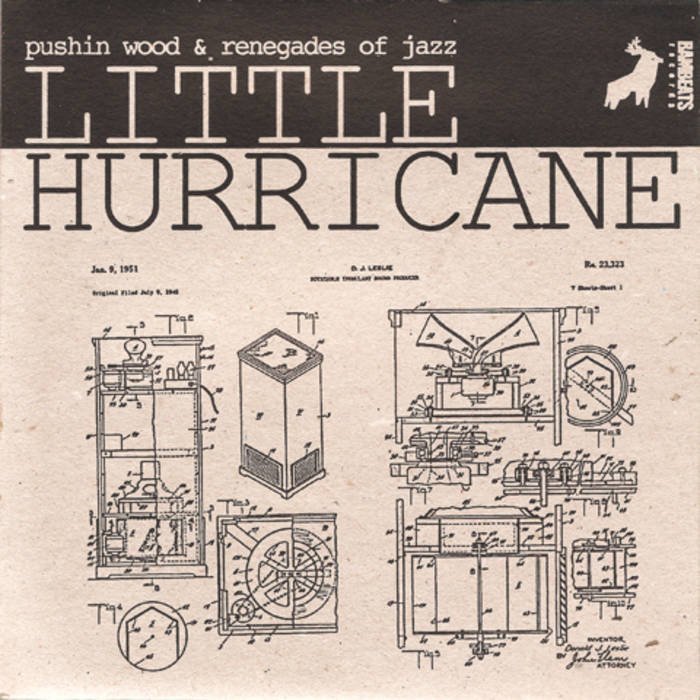"""Little Hurricane 7"""" (SOLD OUT) cover art"""