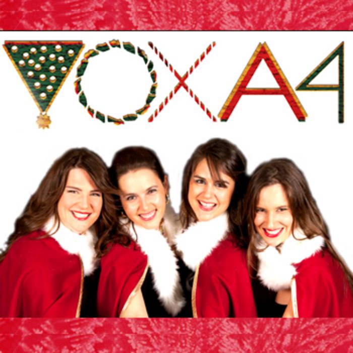 VoxA4 chante Noël cover art