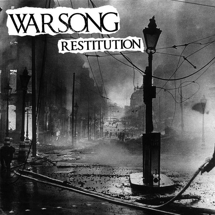 """Restitution"" - No Nostalgia Recs. cover art"